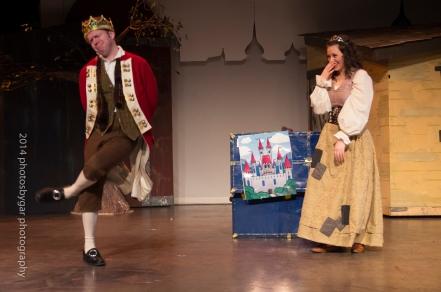 """The Commedia Princess and the Pea"""