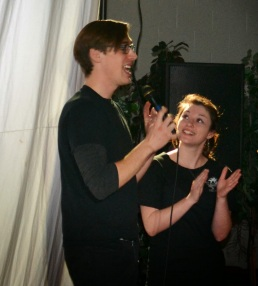 Performing with Trickster Theatre