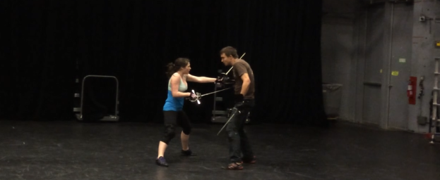 Rapier and Dagger Fight, AFDC Nationals