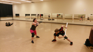 Broadsword and Knife Fight, Paddy Crean Workshop 2014