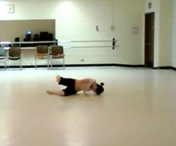 Lyrisized Pedestrian Movement Choreography Rehearsal