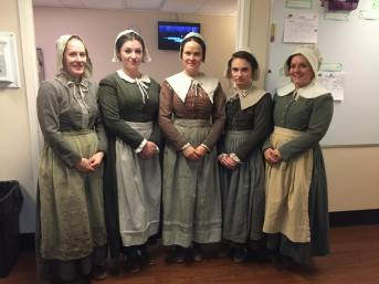 """""""The Crucible""""; costumes by Deitra Kalyn"""